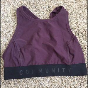 Aritzia Community sports bra/crop top from aritzia